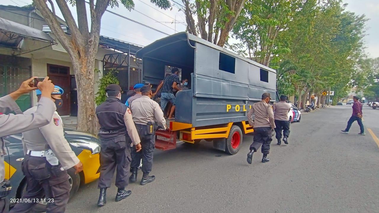 Operasi Premanisme di Kota Kediri, Puluhan Orang Diamankan Polisi