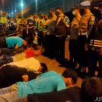 Razia Premanisme dan Yustisi di Jombang, Puluhan Remaja Semburat