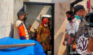 Korban Kebakaran di Tembelang Terima Bantuan Pemkab Jombang