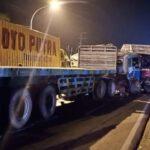 Polisi Tangani Kecelakaan Beruntun Tewaskan Sopir Truk di Jenu Tuban