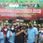 Polres Jombang bersama lembaga anti narkotika deklarasi perang narkoba