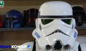 Propsmaker Star Wars Buatan Pria Magetan Yang Mendunia