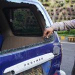 Tertibkan Warkop Saat PPKM Darurat di Surabaya, Mobil Polisi Dirusak