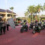 Polres Nganjuk Sebar Bansos untuk Warga Terdampak PPKM Darurat