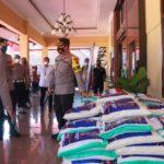 Hore..! Polres Jombang Salurkan 5,25 Ton Beras ke Rumah-rumah Warga