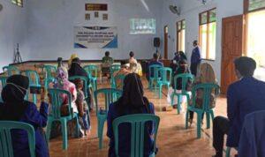 Penayangan Video Profil Desa Cengkok Nganjuk Terapkan Prokes Ketat