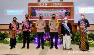 Polres Jombang Kukuhkan Ulama Jadi Duta Prokes Cegah COVID-19