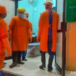 Antrean Pemulasaran Jenazah COVID-19 di RSUD Jombang Berjam-jam