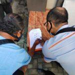 Bantuan Sosial Tunai Dibagikan Langsung ke Rumah Warga Kediri