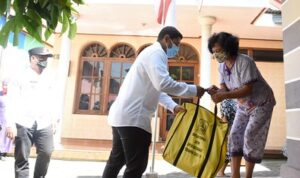 Sebanyak 21.998 KPM di Kediri Terima Bantuan 10 Kilogram Beras