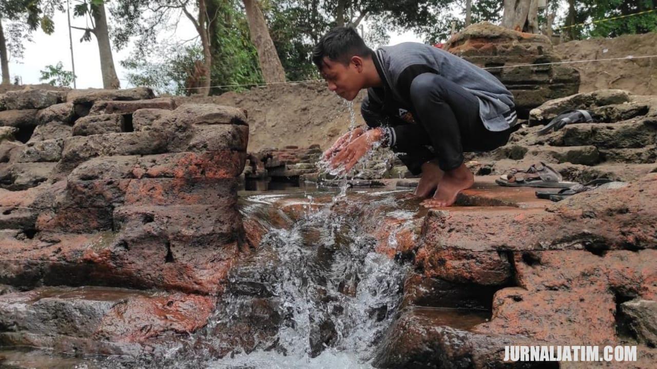 Inilah Temuan 10 Hari Ekskavasi Situs Petirtaan Sumberbeji Jombang