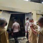 Gudang Rumah Sakit Rujukan Pasien COVID-19 di Jombang Terbakar