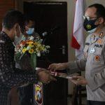 Berhasi Ungkap Kasus Tanah, Polres Nganjuk Dapat Penghargaan BPN
