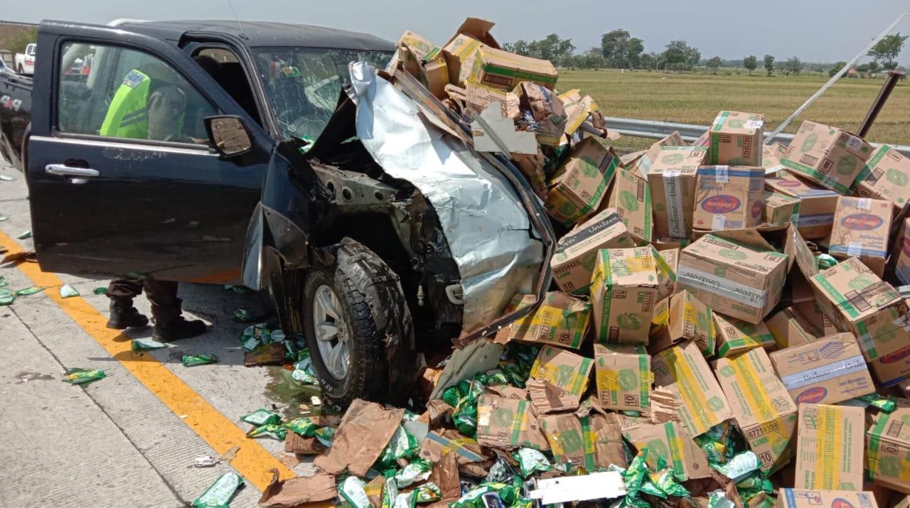 Tiga Orang Masuk RS Akibat Kecelakaan Beruntun 3 Mobil di Tol Jombang