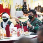 Panglima TNI ke Madiun beri arahan penerapan aplikasi Silacak dan Inarisk