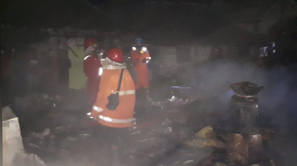 Dua Rumah Warga di Tuban Senilai Rp140 Juta Ludes Terbakar