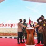 Bendungan Gongseng Bojonegoro Mulai Tahap Awal Pengisian Air Waduk
