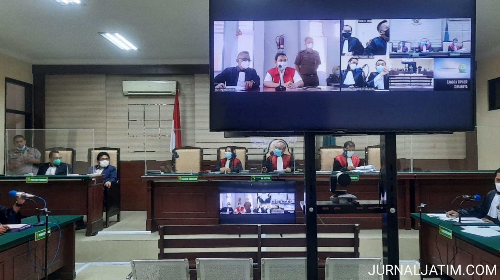 Bupati non aktif Nganjuk Minta Hakim Batalkan Dakwaan Jaksa