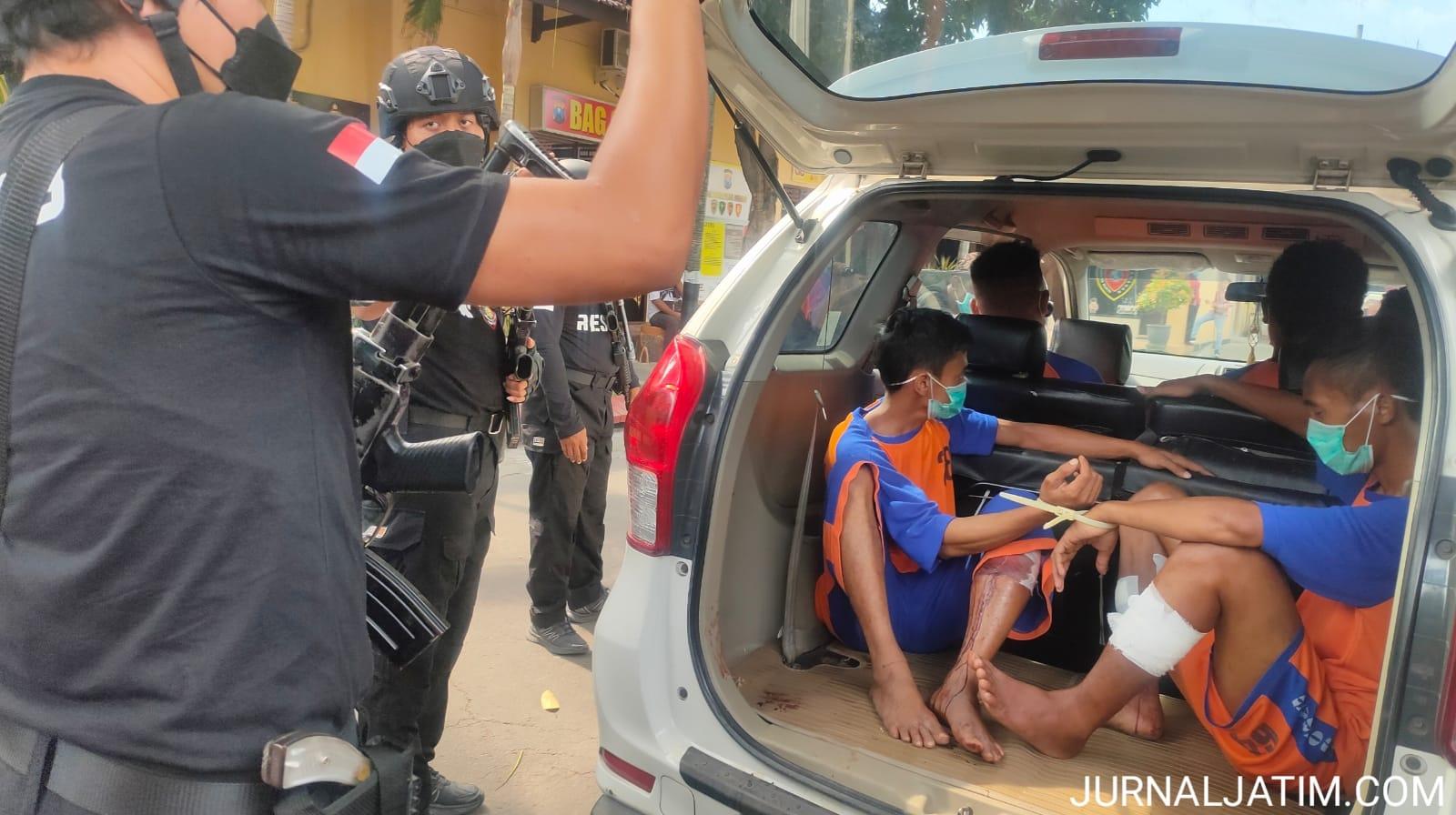 Pistol Perampok Minimarket di Jombang Dibeli Online Buat Menakut-nakuti