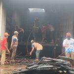 Oven Pabrik Kayu Jati Makmur di Jombang Terbakar, Tiga Jam Api Padam