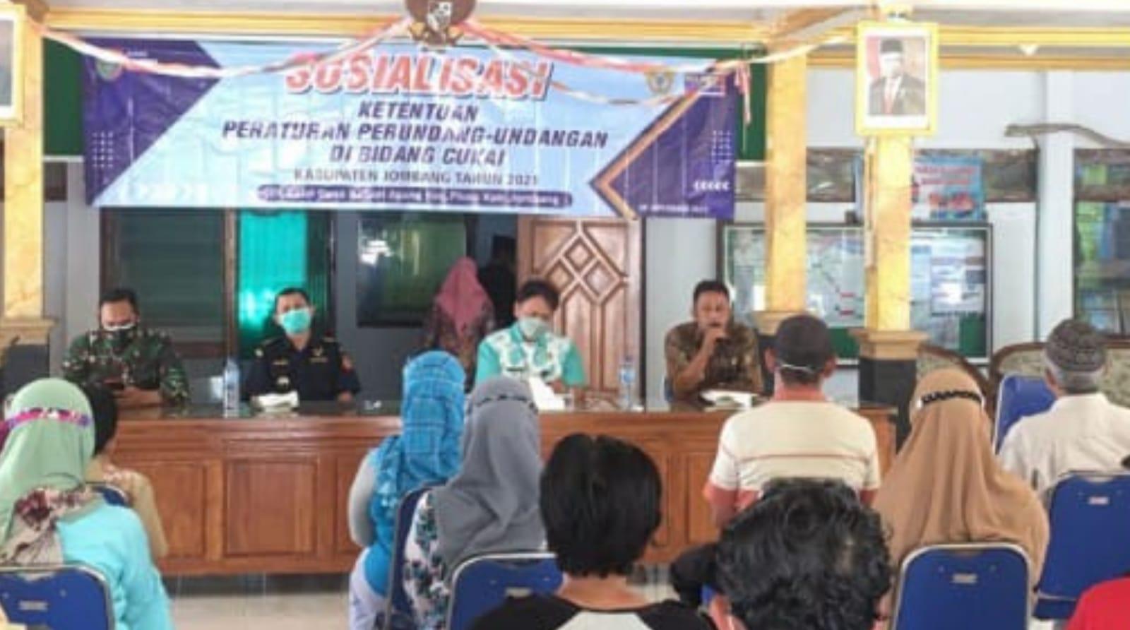 Bea Cukai dan Kominfo Bersinergi Gempur Rokok Ilegal di Jombang