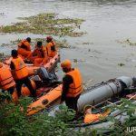 Pencari Ikan Tenggelam di Sungai Brantas Jombang Tinggalkan Motor