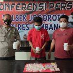 Pengedar Narkoba di Jogoroto Jombang Dibekuk, Ribuan Pil Koplo Disita