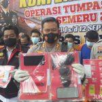Polisi Libas 26 Orang Pengedar Narkoba di Jombang Selama Dua Pekan
