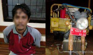 Pekerja UPT Bina Marga Curi 13 Besi Pembatas Jalan Baypass di Jombang
