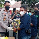 Polres Jombang Salurkan Sembako Untuk Wartawan