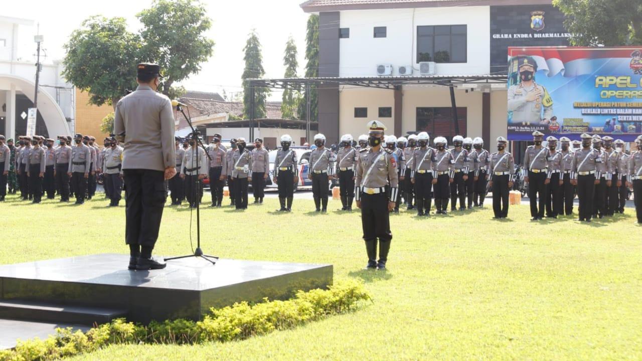 Operasi Patuh Semeru 2021 di Jombang Sasar Pelanggar Lalin dan Prokes