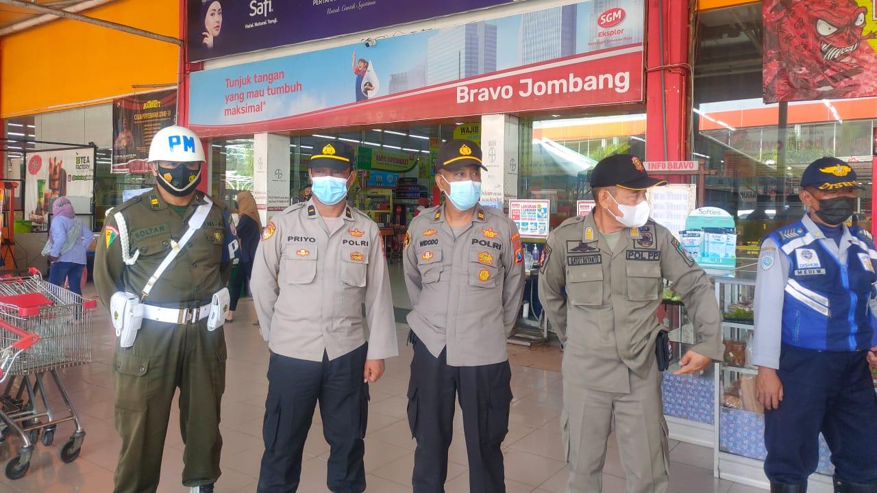 Operasi Yustisi Terus Digencarkan Meski Jombang Turun Level PPKM