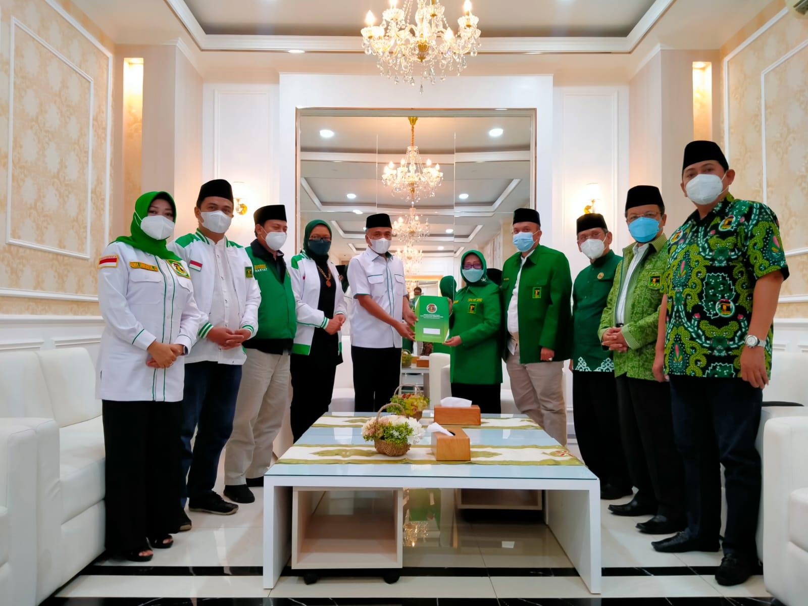 Bupati Jombang Mundjidah Wahab Pimpin PPP Jatim Periode 2021-2026