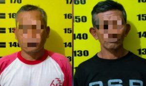 Polsek Kalangbret Tangkap 2 Pelaku Pembalakan Liar di Hutan Tulungagung