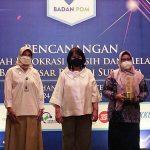 Kabupaten Nganjuk Raih Dua Penghargaan dari BBPOM