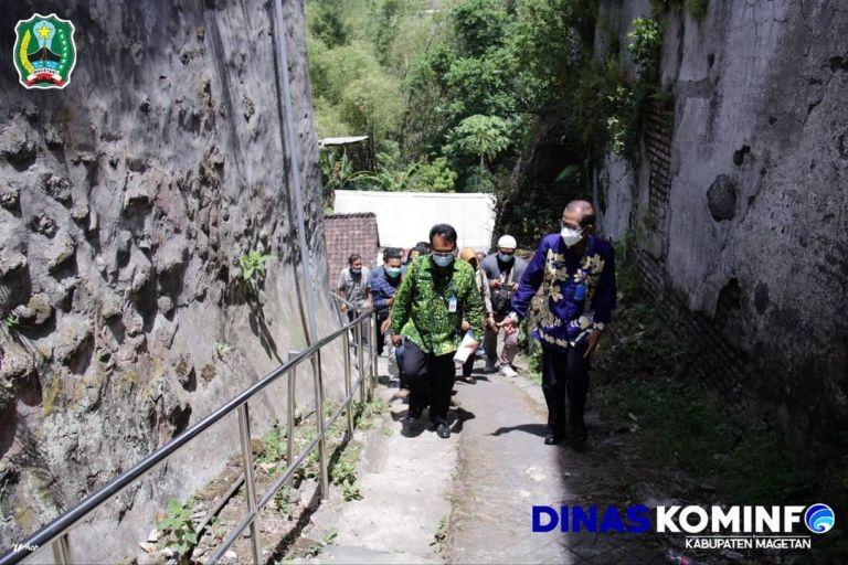 Jembatan Gantung Untuk Pejalan Kaki di Magetan Bakal Jadi Wisata Baru