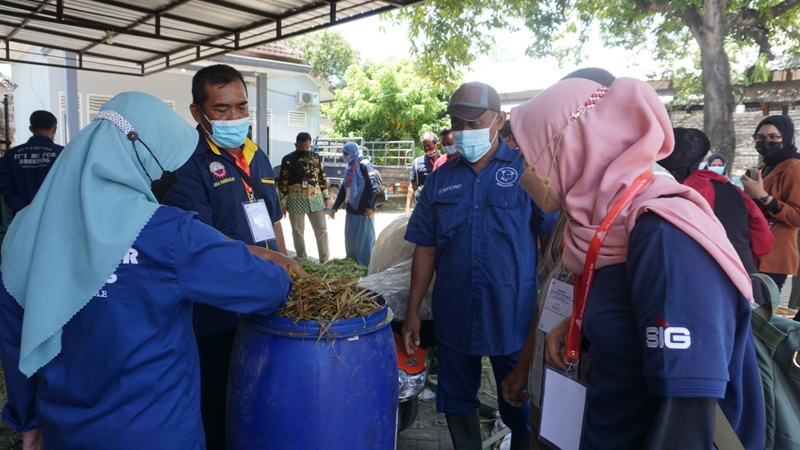 Pemulihan Ekonomi, SIG Gelar Pelatihan Pertanian Terpadu di Tuban