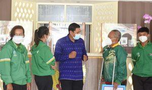 Wali Kota Kediri Semangati Atlet Paralimpik di Peparnas XVI Papua 2021