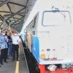 Angkutan reguler semen Babat-Jakarta melalui Kereta Api resmi dijalankan