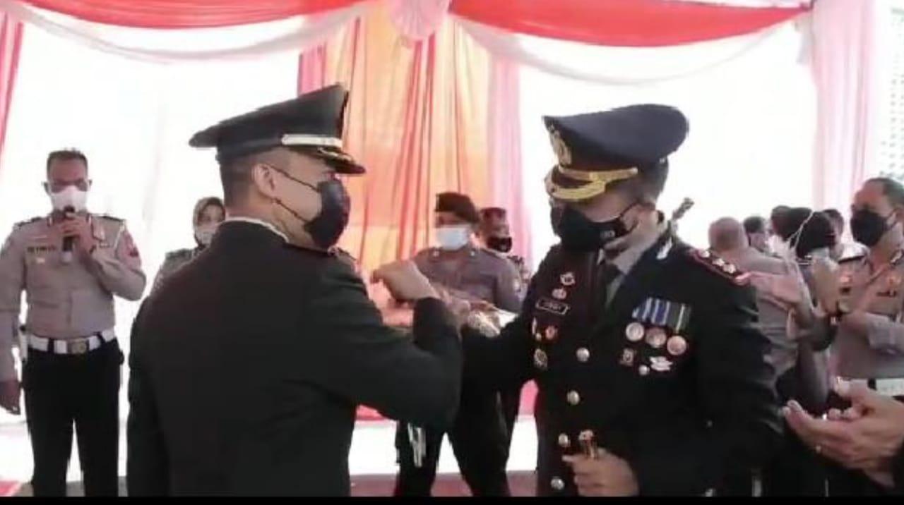 Puluhan Anggota Polres Nganjuk Gerebek Kodim 0810 di HUT ke 76 TNI