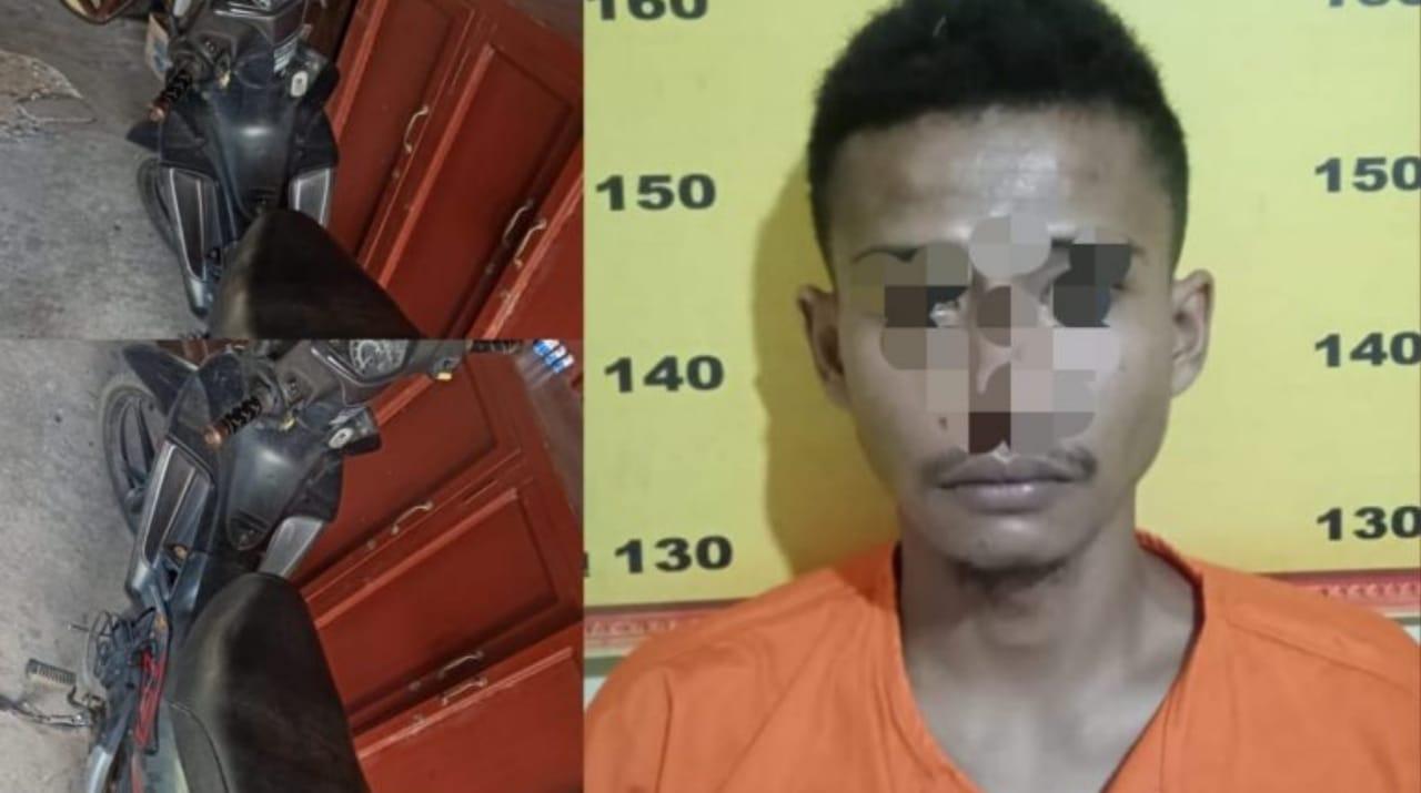 Maling Motor di Tulungagung Tertangkap Warga dan Dijebloskan Penjara