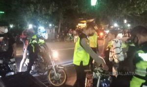 Brrong..Brrong, 103 Motor Knalpot Bising di Jombang 'Dikandangkan' Polisi