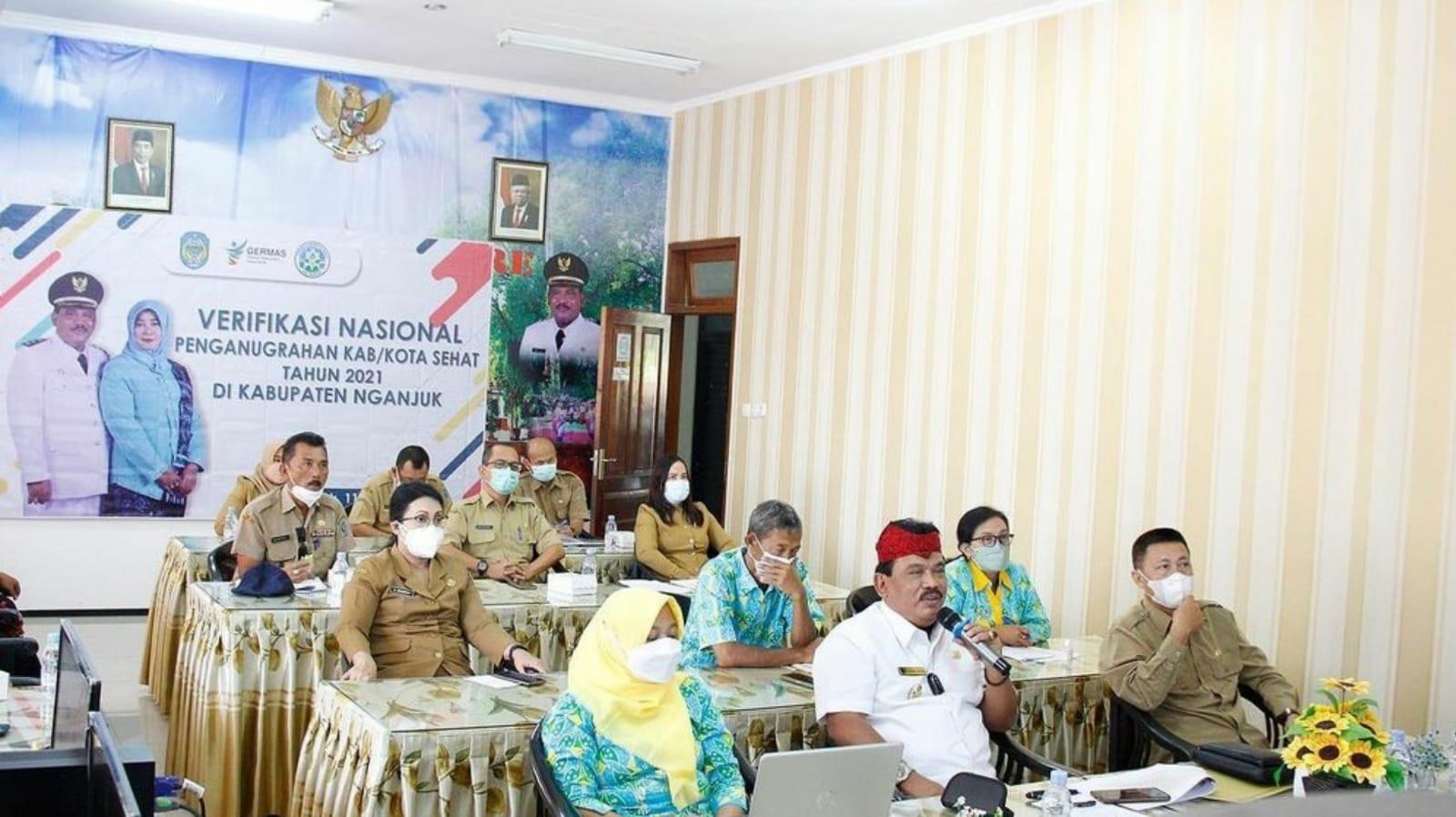 Penilaian KKS, Kabupaten Nganjuk Optimis Raih Swastisaba Wistara