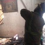 Rumah Kontrakan di Jombang Hangus Terbakar, Kerugian Rp150 Juta