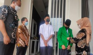 2 Anak Yatim Korban COVID-19 Mondok di Pesantren Bahrul Ulum Jombang