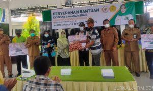 Petani di Jombang Terbantu Pemberian Bibit Bawang Merah dari DPR RI