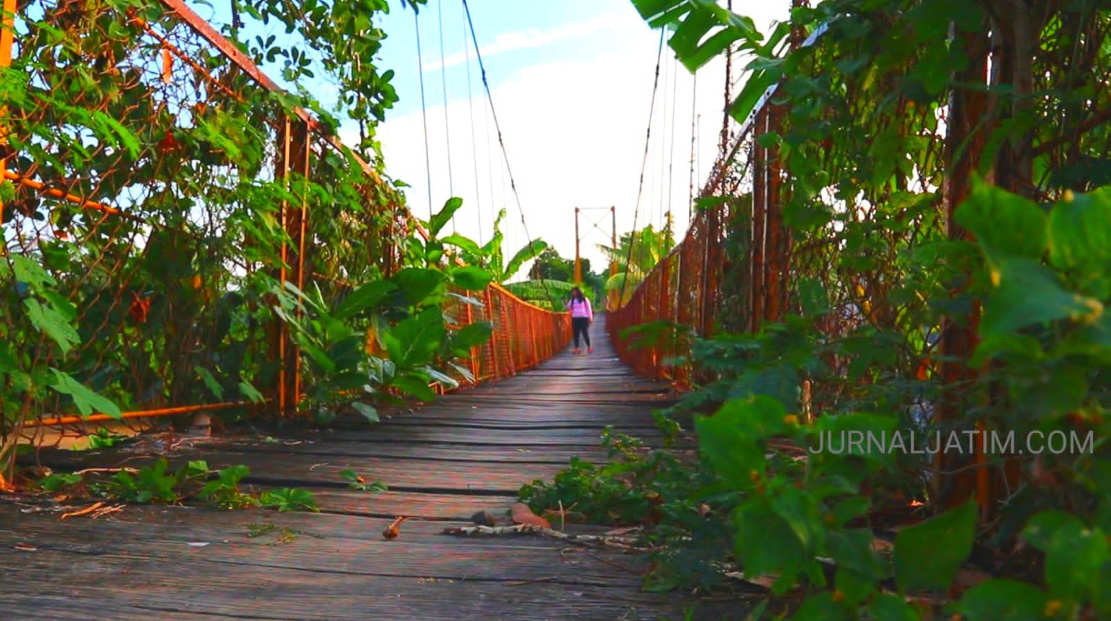 Jembatan Gantung Lama di Jombang Jadi Sejarah Perjuangan Masyarakat